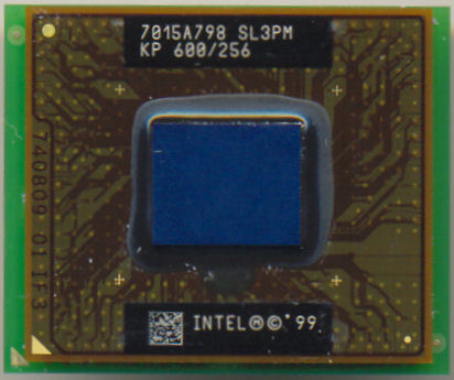 Intel Mobile PIII KP 600/256 SL3PM