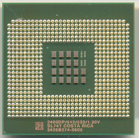 Intel Xeon 2400DP/512/533/1.30V SL74T