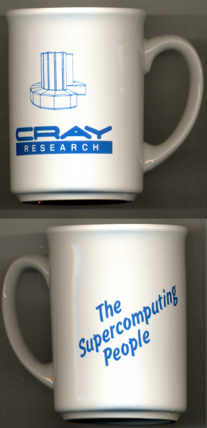 "Cray Mug ""Cray Research The Supercomputing People"""