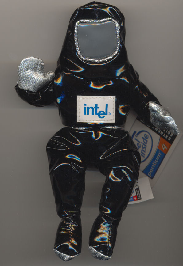 Intel bunnyman black P4 Extreme Edition