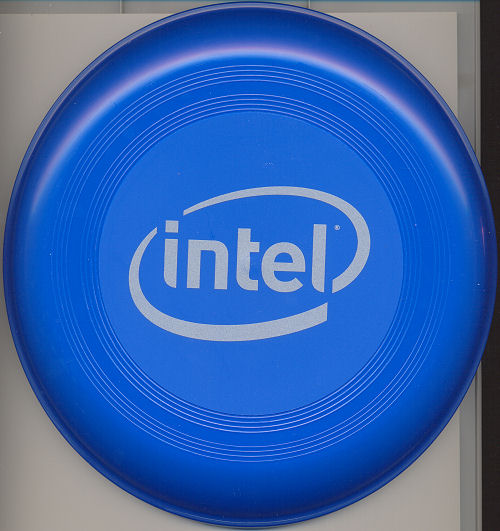 Intel frisbee new logo