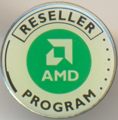 AMD pin 'Reseller program'