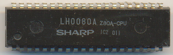 Sharp LH0080A Z80A-CPU