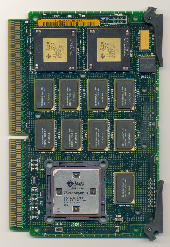 Complete board SUN Ultra SPARC II 250 MHz