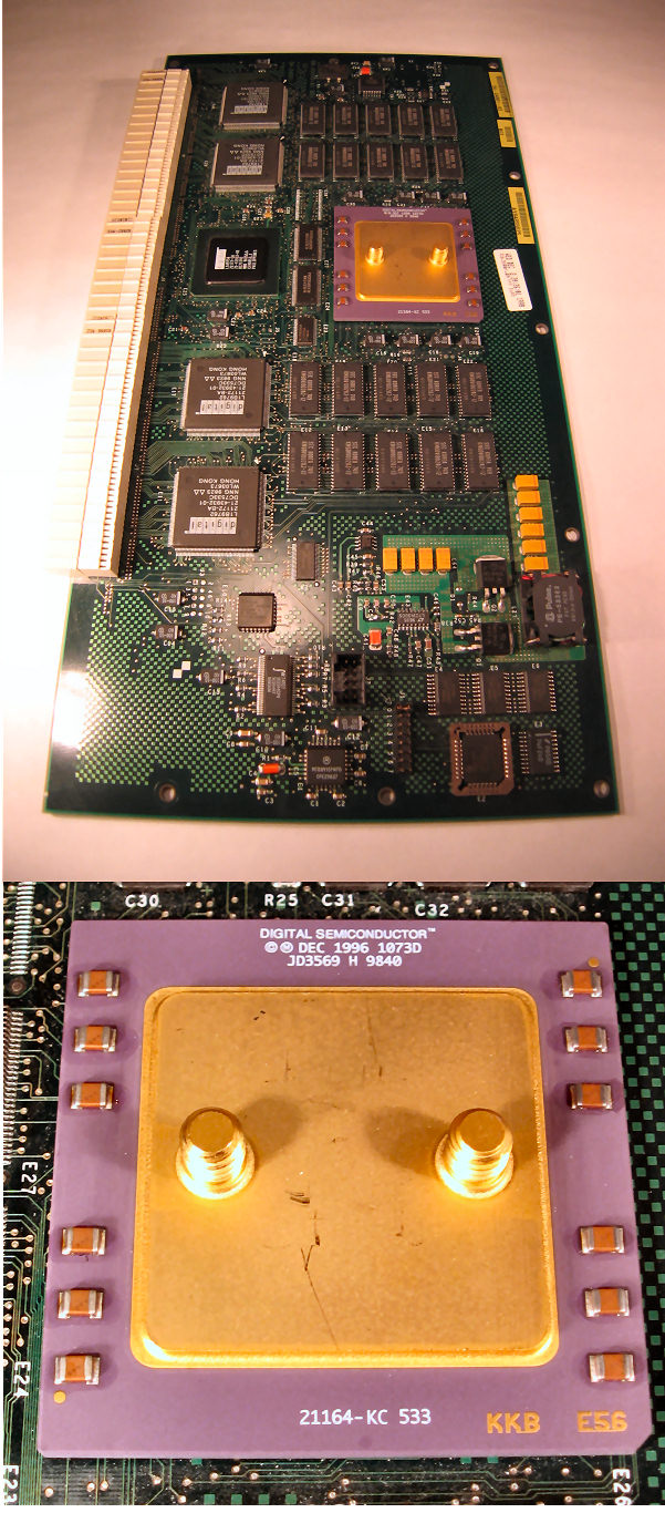 DEC Alphaserver 800 cpu board