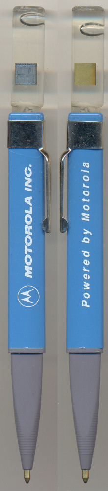 "Motorola Pen with 68000 chip ""Powered by Motorola"""
