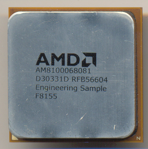 AMD Athlon ES AM8100068081 D30331D RFB56604