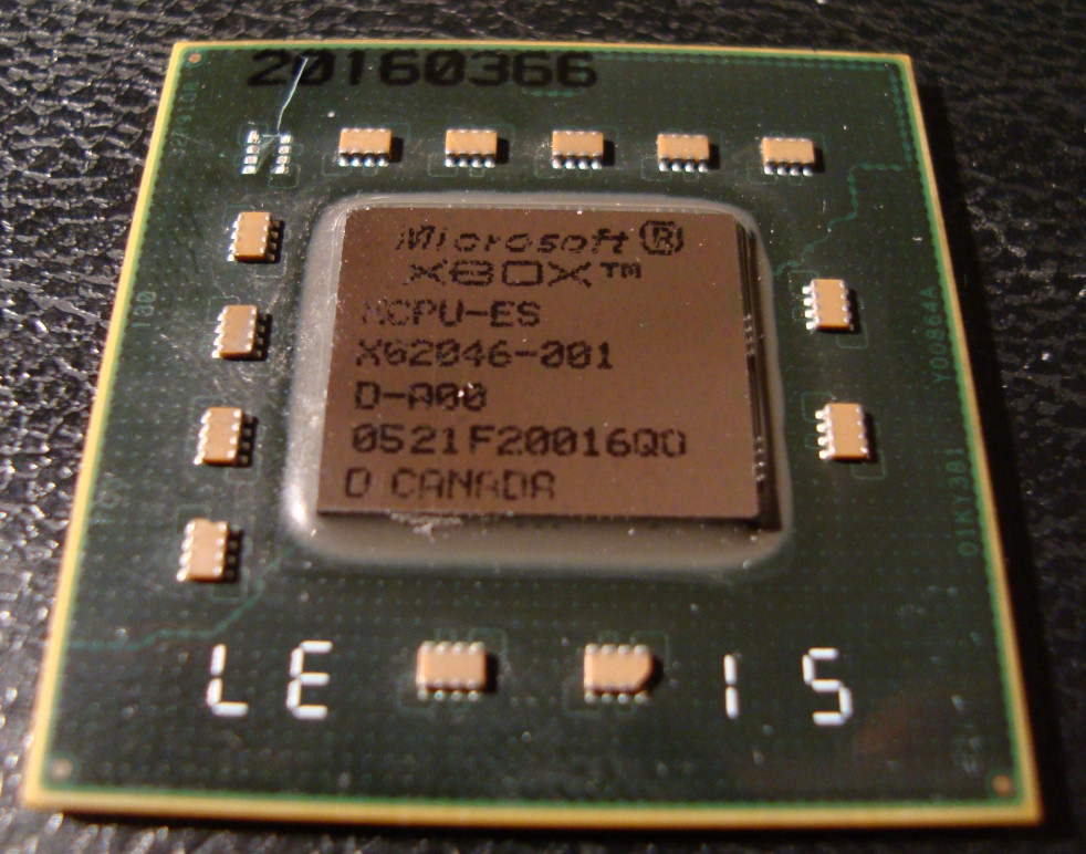Microsoft XBOX 360 XCPU-ES no 360 Engineering Sample