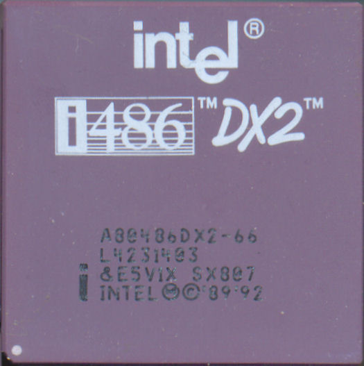 Intel A80486DX2-66 SX807
