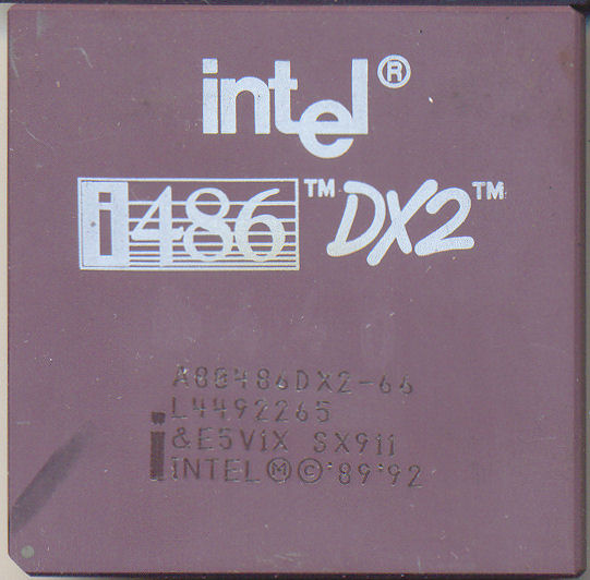 Intel A80486DX2-66 SX911