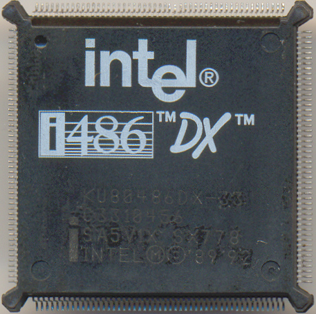 Intel KU80486DX-33 SX778