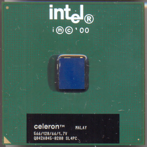 Intel Celeron 566/128/66/1.7V SL4PC