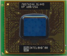 Intel Mobile PIII KP 600/256 SL443