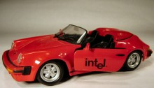 Intel Porsche 911 speedster (2 pcs)