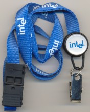 Intel badgeholder