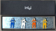 Intel fridge magnets