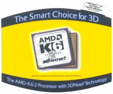 "AMD mousepad K6-2 ""The smart choice"""