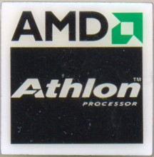 AMD pin 'Athlon processor'