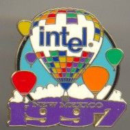 Intel pin AIBF 1997 New Mexico