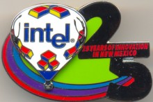 Intel pin 'Albuquerque International Balloon Fiesta'