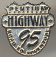 Intel pin Pentium 'Road to adventure'