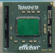 Transmeta Efficeon TM8600
