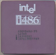 Intel A80486DX-25 SX308