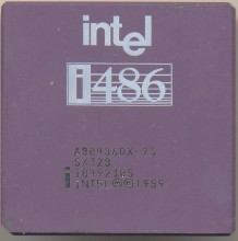 Intel A80486DX-25 SX328