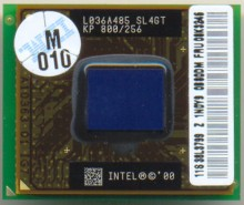 Intel Mobile PIII KP 800/256 SL4GT