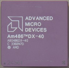 AMD A80486DX-40 No logo