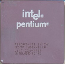 Intel A80502-133 SY126 FAKE