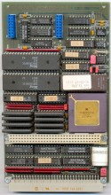 Complete board MC68030RC16B