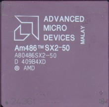 AMD A80486SX2-50 'No windows logo'