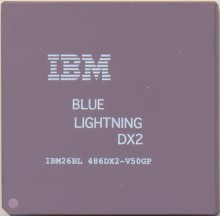 IBM 'Blue lightning' DX2-50