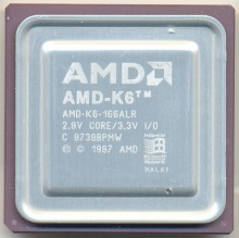 AMD AMD-K6-166ALR etched