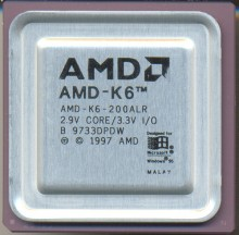 AMD K6-200ALR Rev B