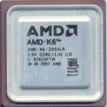 AMD K6-200ALR Rev C