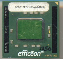 Transmeta Efficeon TM860013 ES