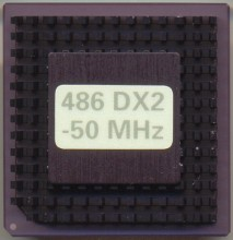 Intel A80486DX2-50 OEM version
