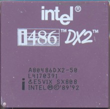 Intel A80486DX2-50 SX808