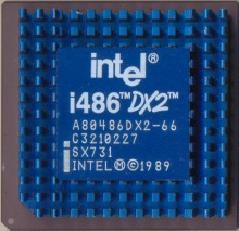 Intel A80486DX2-66 SX731