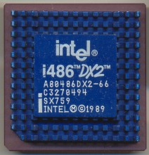 Intel A80486DX2-66 SX759