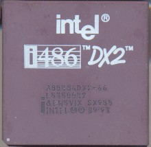 Intel A80486DX2-66 SX955