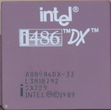 Intel A80486DX-33 SX729