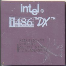 Intel A80486DX-33 SX810