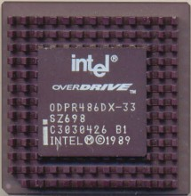 Intel ODPR486DX-33 SZ698