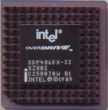 Intel ODP486DX-33 SZ802