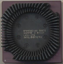 Intel BP80502166 SU072 'with ICOMP'