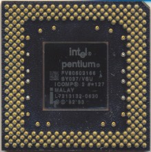Intel FV80502166 SY037 with ICOMP2