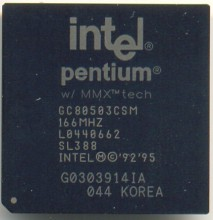 Intel GC80503CSM 166 SL388